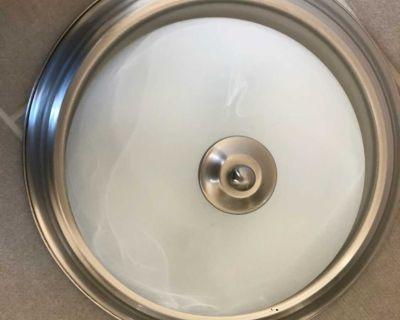 Flush mount ceiling light $10 each. 4 available