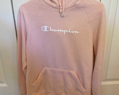 Excellent Condition Light Pink Champion Hoodie