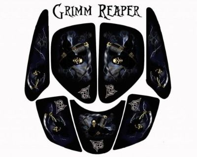 Honda Atc 200x Atc200x Grim Reaper Graphic Kit #bdh14017 Vsh6027