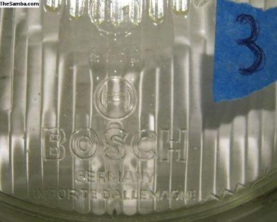 One used Euro Bosch headlight lens #3