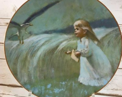 """1979 """"A Friend In The Sky"""" Plate 1st Issue-Precious Moments Collection"""