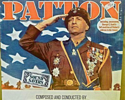PATTON SOUNDTRACK LP NM US JERRY GOLDSMITH MOVIE SCORE 1970