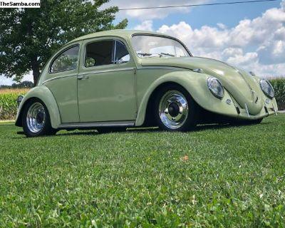 1963 Bug Beryl Green Original Paint
