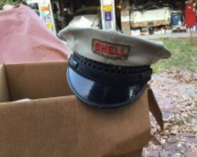 Original Shell gas station attendant hat