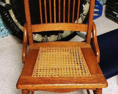 Vintage/antique caned chair