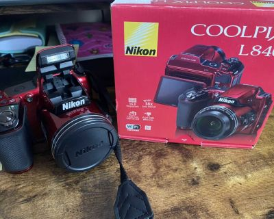 Nikon Coolpix L840 and SD Card