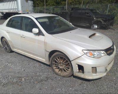 Salvage White 2012 Subaru Impreza Sedan Wrx