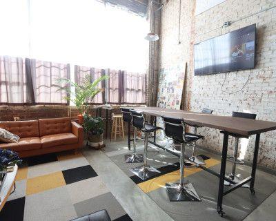 Midtown Comfy Loft Studio with Natural Light + High Ceilings, Atlanta, GA