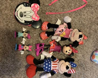 Minnie Mouse lot (6 items)