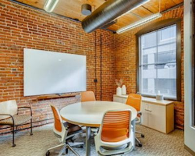 Private Meeting Room for 4 at Office Evolution - Denver/Downtown Market Street