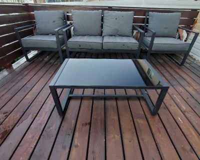 Patio set from Costco