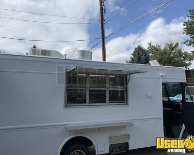Fully Loaded 26' Chevrolet P30 Self-Contained Mobile Kitchen Food Truck