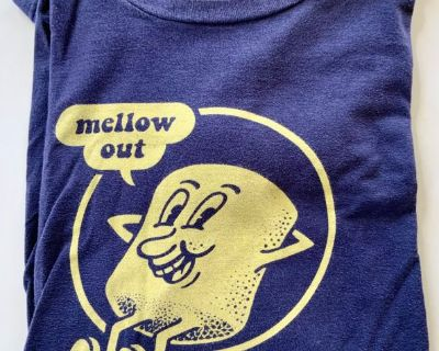 "XXL ""Mellow Out"" Navy T-Shirt"