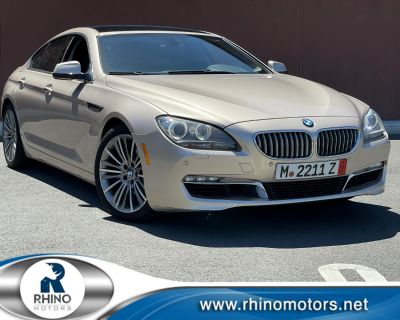 2013 BMW 6 Series 4dr Sdn 650i xDrive Gran Coupe