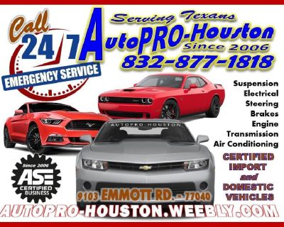 DIAGNOSTICS AND REPAIRS for LESS at AUTOPRO-HOUSTON