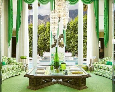 The Establishment, quintessential 1960's Villa - Twin Palms