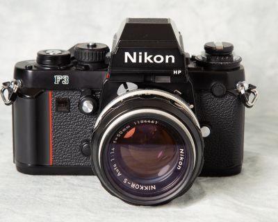 For Sale: Nikon F3HP & 50mm f/1.4 non-ai lens (or Trade)
