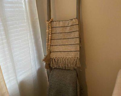 Grey Wooden Ladder