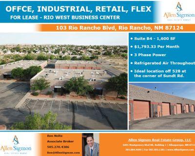 Rio Rancho Flex Space off 528 Available