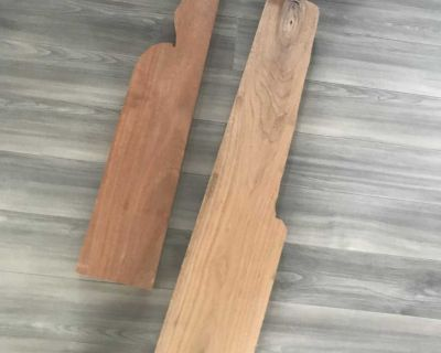 Solid wood pieces