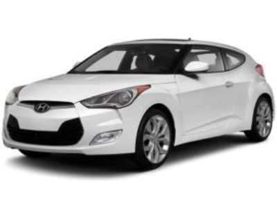 2013 Hyundai Veloster Base with Gray Interior Automatic