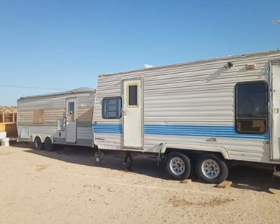 2 Travel Trailers AS-IS BEST OFFER