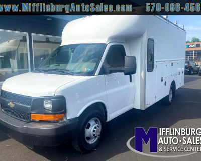 "Used 2012 Chevrolet Express Commercial Cutaway RWD 3500 159"" WB Work Van"
