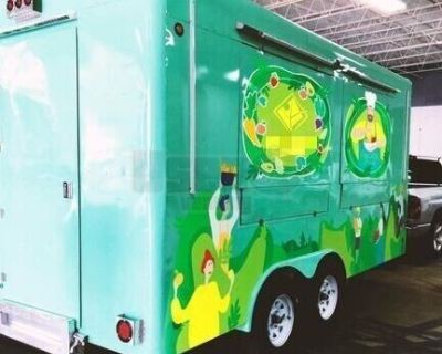 Turnkey Lightly Used 2020 - 8.4' x 16' Food Concession Trailer