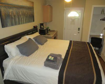 Cozy Walkout Suite - King bed, ATL, netflix, CBS - Fulton County