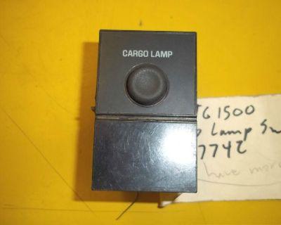 99-02 Chevy Silverado Gmc Sierra 1500 2500 3500 Oem Cargo Lamp Switch 15714159
