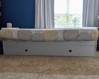 Daybed Trundle Bed White Pace