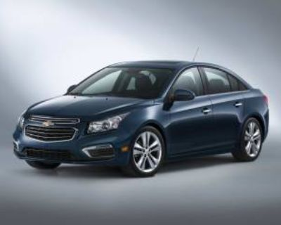 2015 Chevrolet Cruze LT with 1LT Automatic