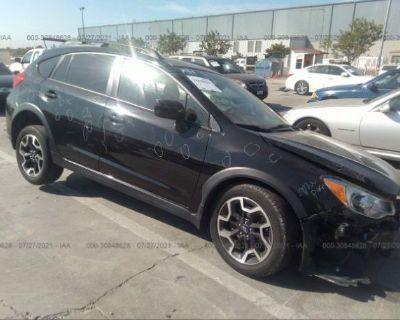 Salvage Black 2016 Subaru Crosstrek