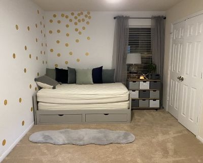 New, large bed & bath, garage in great location