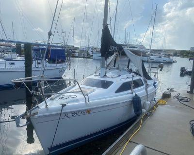 Romantic Sailboat in Luxury Yacht Cub - Stock Island