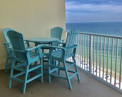 AMAZING GULF VIEWS! from the 12th floor; crashing waves on crystal white sand. - Gulf Shores