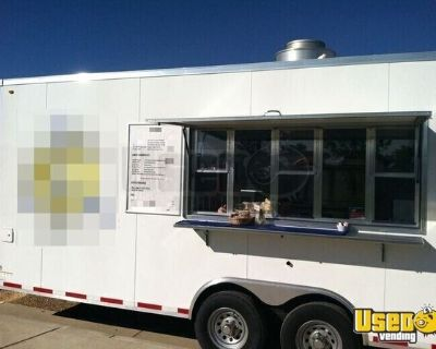 Turnkey 2010 - 8.5' x 18' Mobile Cafe' and Catering Food Trailer