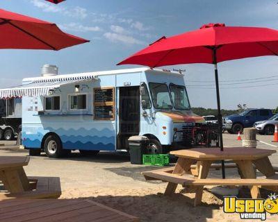 Grumman C30 16' Step Van All-Purpose Food Truck with Pro-Fire