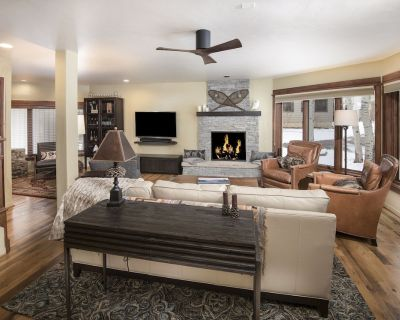 New Listing! Riverfront Townhome in Avon - Private Fly Fishing on Eagle River - Avon