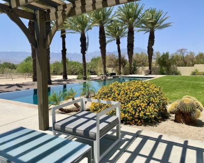 Private Estate Infinity Pool Striking View - Thousand Palms
