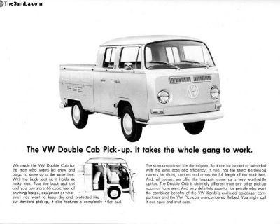[WTB] Bay window Double Cab Crew Cab