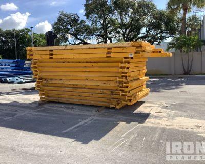 Lot of (14) Cerda Slide Rail Trench Shield Panels