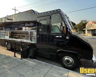 24' GMC P32 Kitchen Food Truck with Pro Fire Suppression System