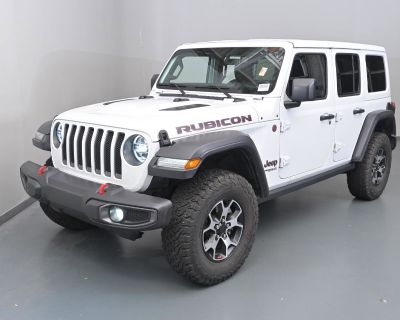 Pre-Owned 2021 Jeep Wrangler Unlimited Rubicon