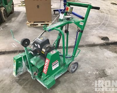 2015 Edco DS-18-5 Electric Walk Behind Saw