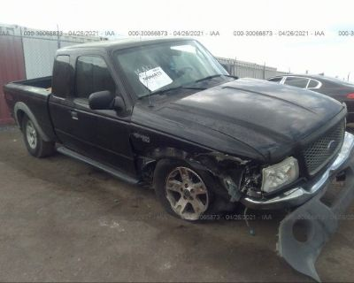 Salvage Black 2003 Ford Ranger