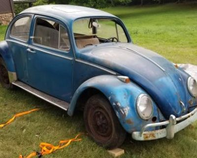 1966 Beetle With Sunroof