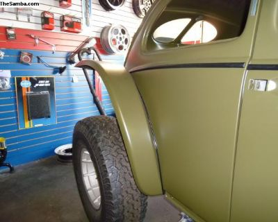 Hi-clearance baja bug fenders