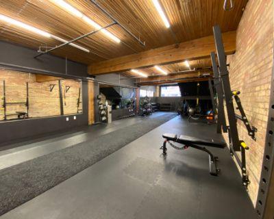Unique Exposed Brick + Industrial + Open Concept Training Studio and Workspace, Toronto