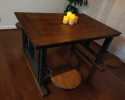 Dining Table- Cafeteria Style